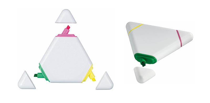 Zakreślacz reklamowy trójkąt – 19043