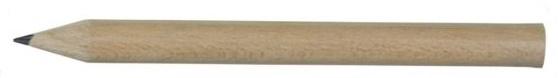 Krótkie ołówki reklamowe drewniane – 73773