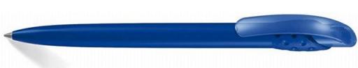 długopis plastikowy w kolorze niebieskim