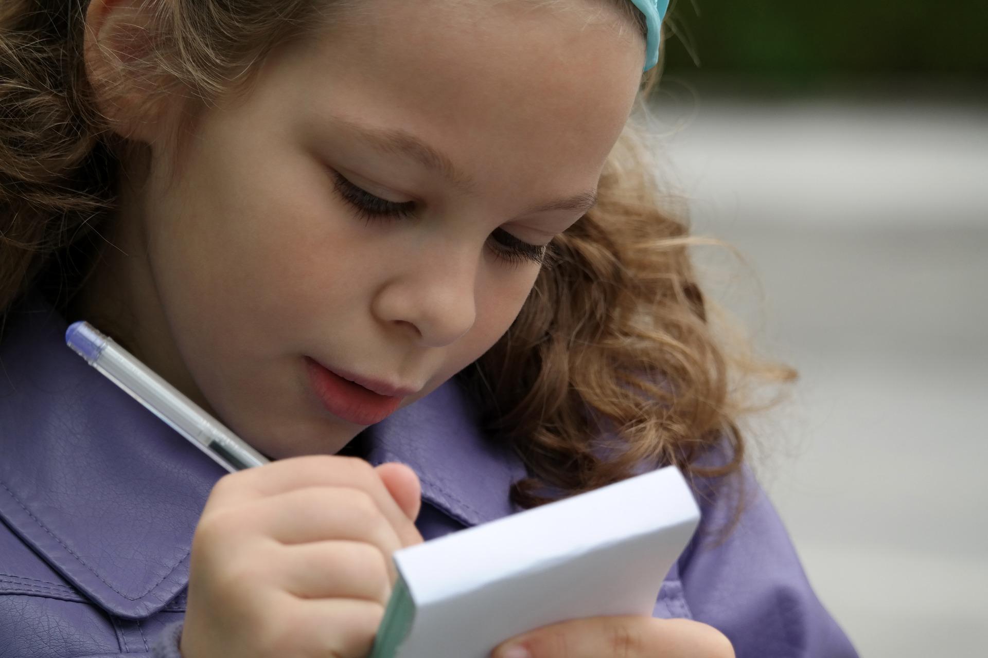 pióro czy długopis dla dziecka