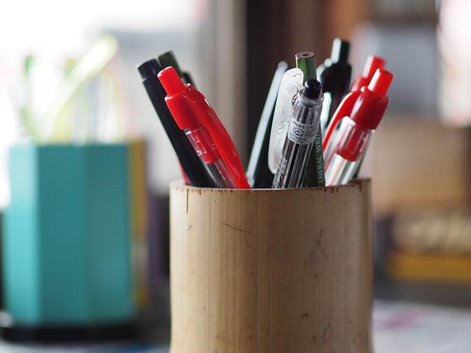 wygodny długopis